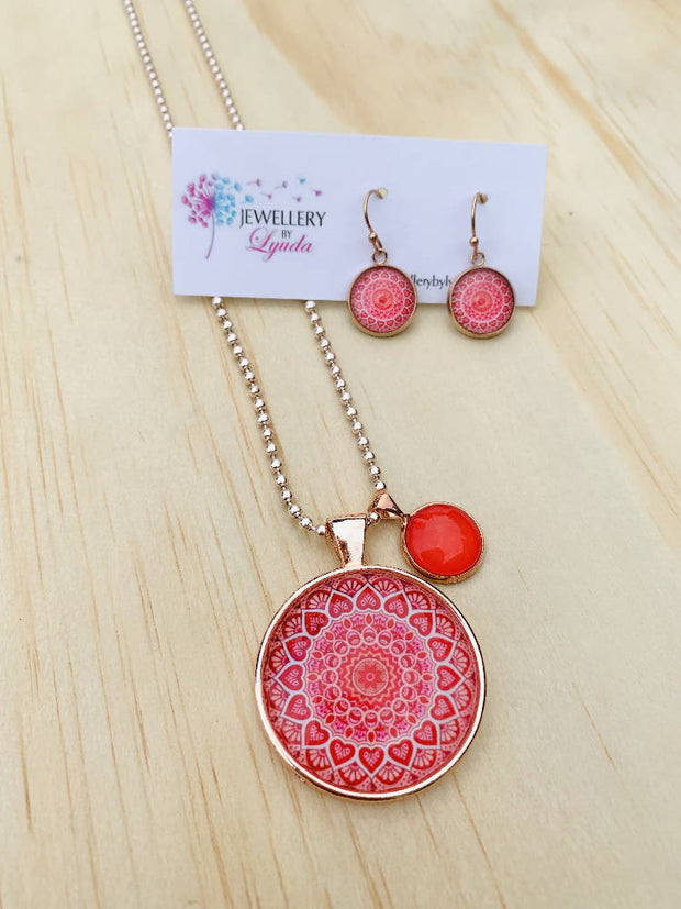 Red Mandala Set