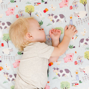 Tails & Trotters Cot Sheet