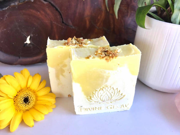 Persian Lime and Lemongrass Cold Processed Soaps