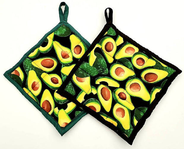 Pot Holders Kitchen Accessory Pack of Three Pot Holders | DSS Handmade