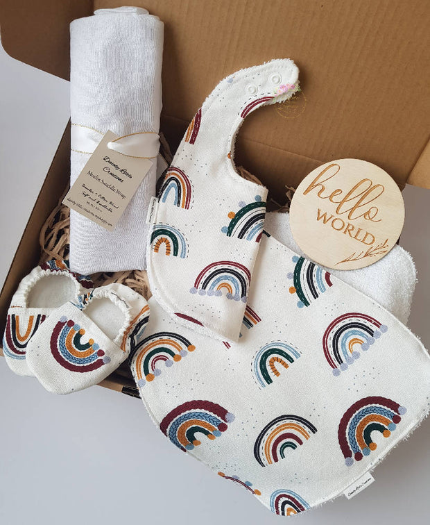 Baby Gift Box-Natural Rainbows