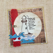 Inspiring Scripture Lighthouse Card