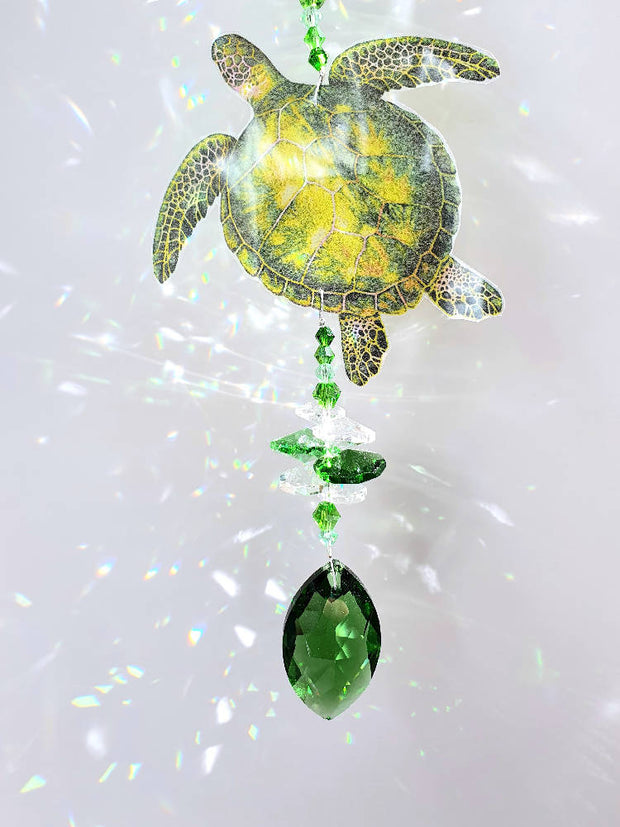 Sea turtle suncatchers