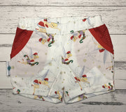 SPECIAL ~ Girls Elastic Waited Shorts with pockets, Christmas shorts