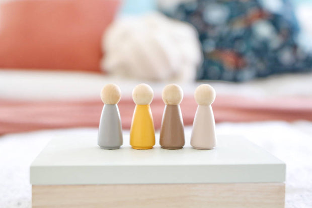Cool To Be Warm Wooden Peg Collection