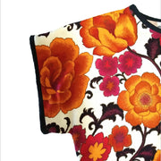 Flower Power Top - size 20 - relaxed fit boxy top
