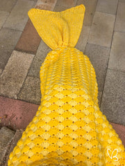 Made to Order Mermaid Tail Blanket