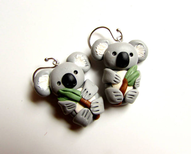 Koala Earrings - 'No-Co' Koalas