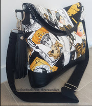 CUSTOM Hippo Hobo Handbag