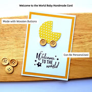 Baby Welcome To The World Card