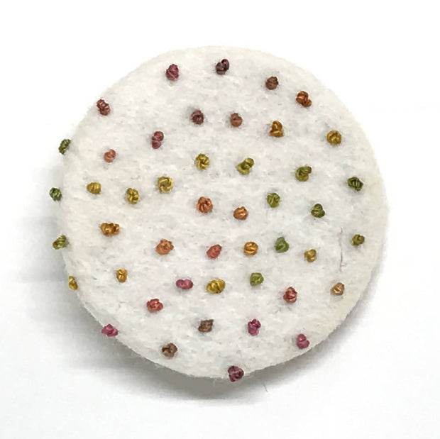 Confetti Brooch - Autumn