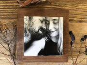 Personalised photo gift, anniversary present, wedding present, Christmas Gift, Wood 5th Anniversary, Custom photo gift, Home Decor, Photo Block, Memory Block