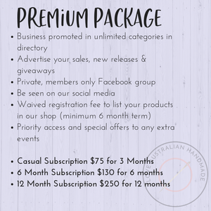 Premium Business Subscription Package