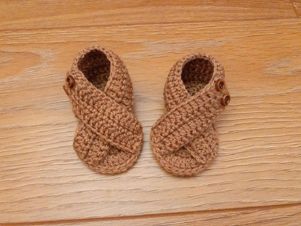 CROSSOVER BABY SANDALS - 0-3MO