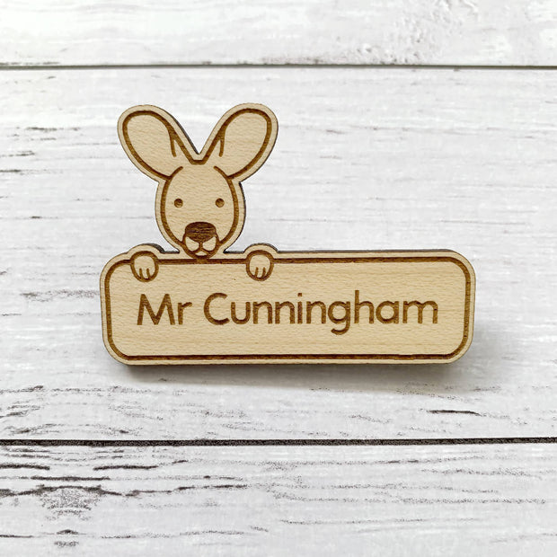 Name badge / name tag - Australian animals