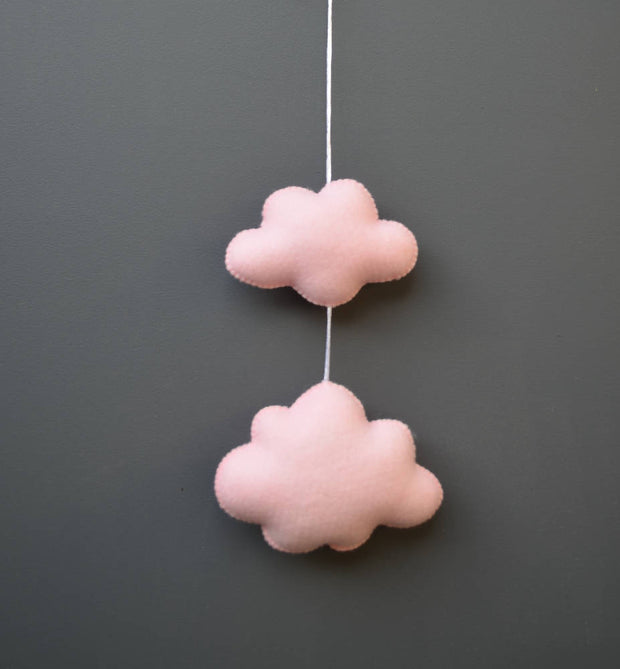 Cloud wall decor