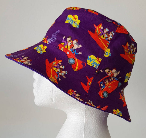 Purple Wiggle Bucket Hat