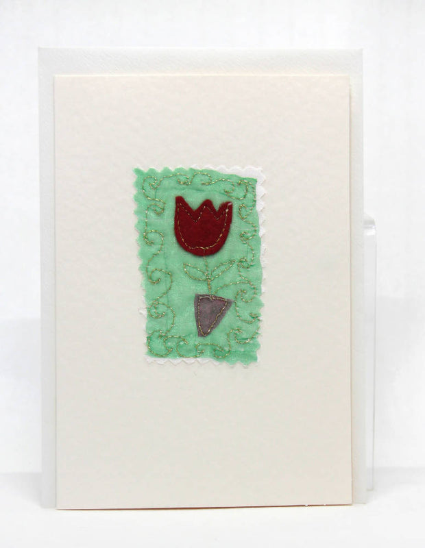 Naive Tulip Greeting Card