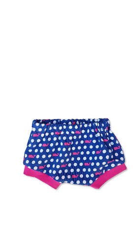 girls nappy cover, bummies, pink whal shorties