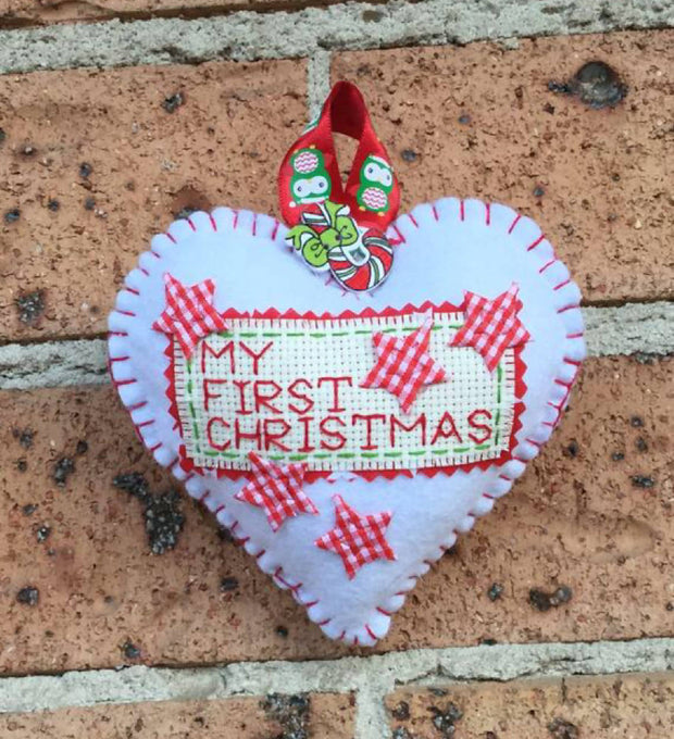 My first Christmas keepsake decoration