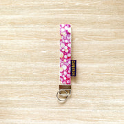 Key Fobs / Wristlets (Fabric + Washable Paper)