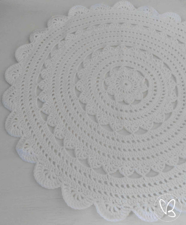 Ready Made Crochet Floor Rug