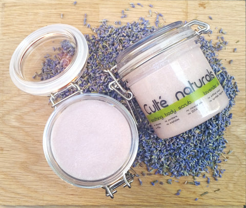 Soothing Body Scrub - Lavender Essential Oil