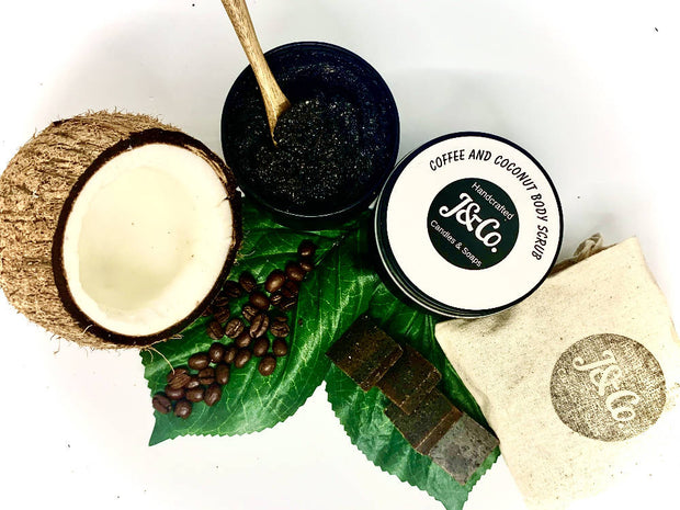 Natural Coffee & Coconut Body Scrub