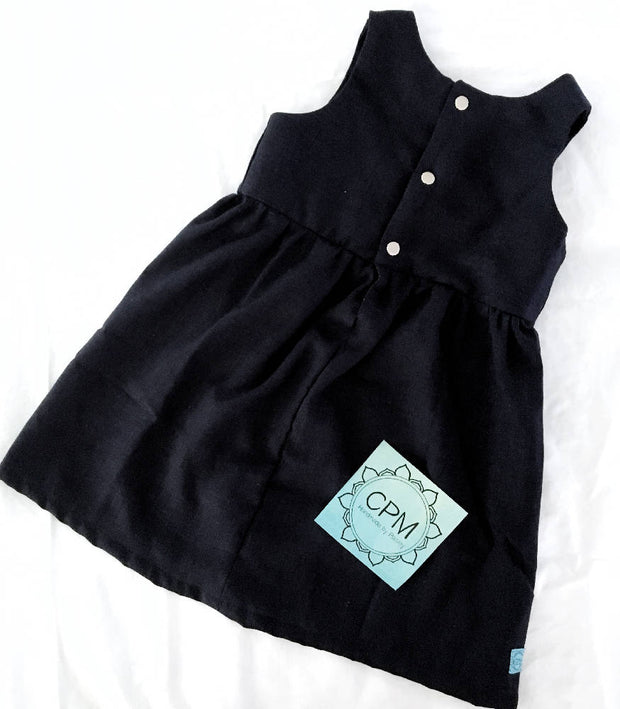 Navy Hemp Dress
