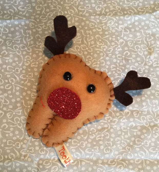 Rudolph tooth fairy pillow