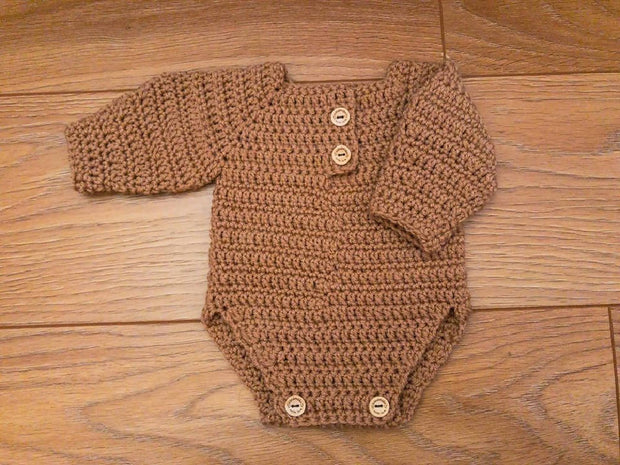 TEDDY ROMPER - MADE TO ORDER