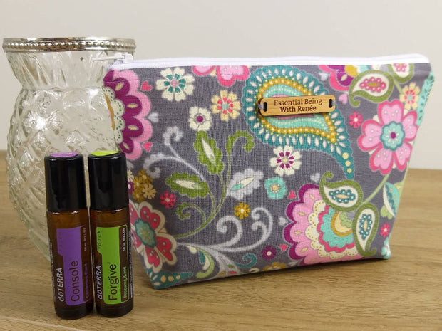Pretty Pastel Essential Oil Bag