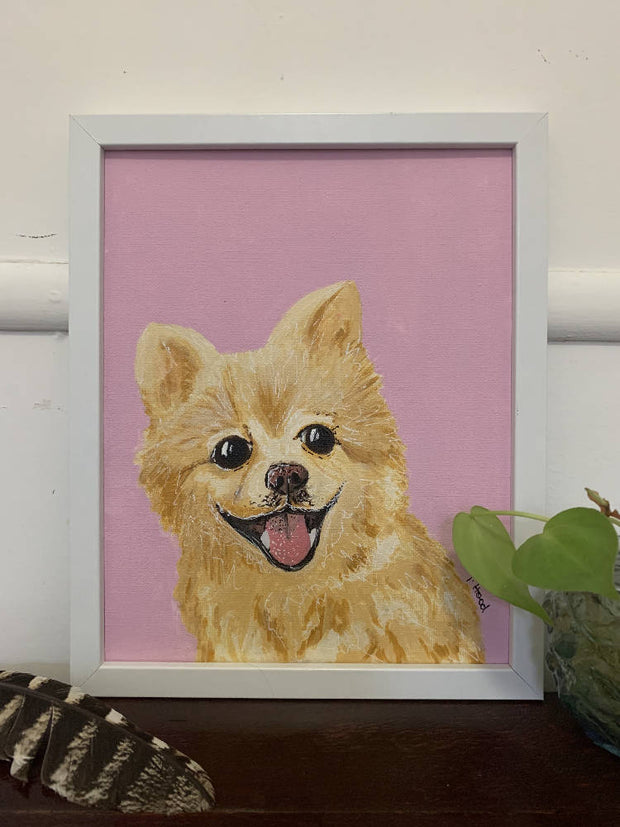 Custom Pet Portrait - One Pet