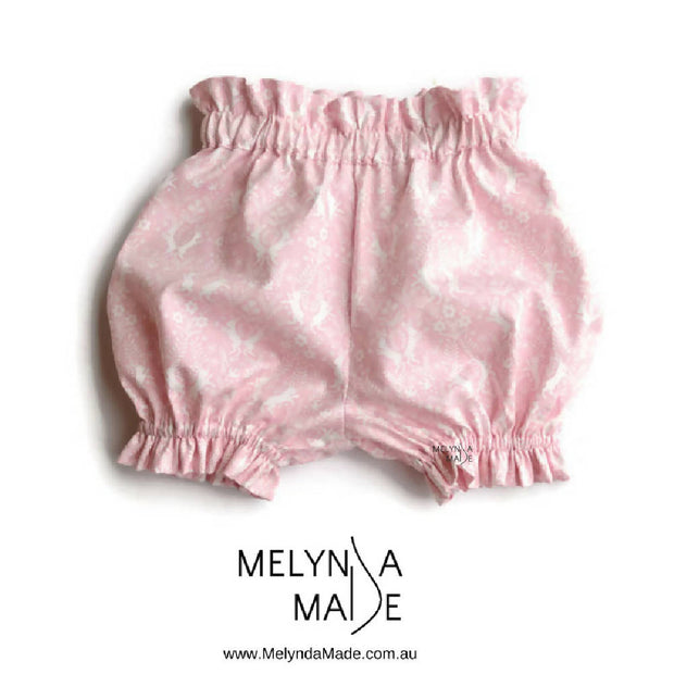 MelyndaMade Handmade Childrens Clothes Bloomers