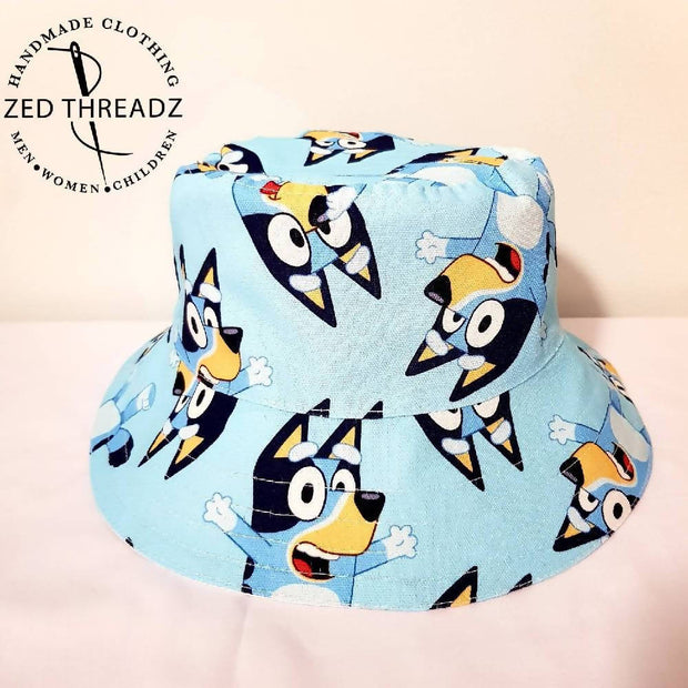 In Stock Bucket Hats - licensed fabric