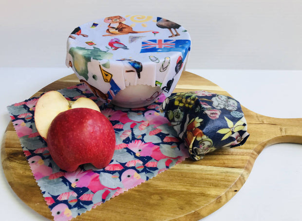 Reusable Beeswax Wraps