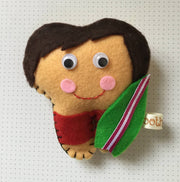 Surfer dude tooth fairy pillow