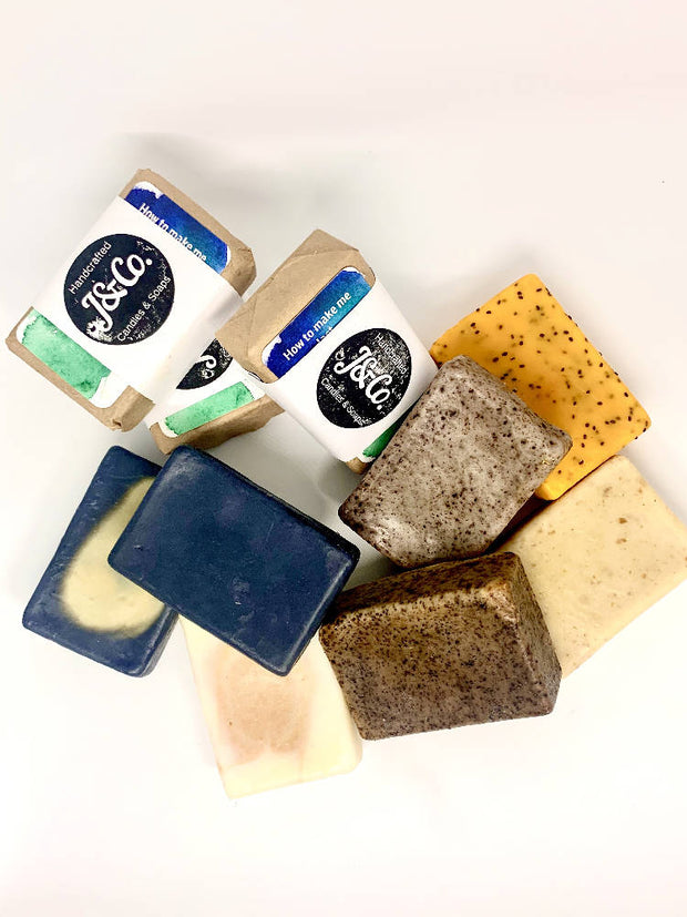 Natural Soap 3 pack bundle