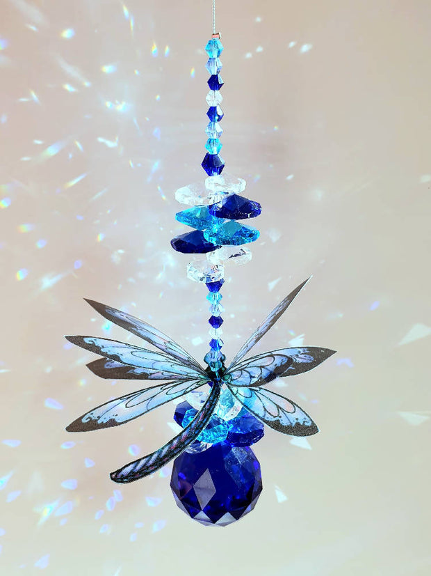 Dragonfly suncatchers