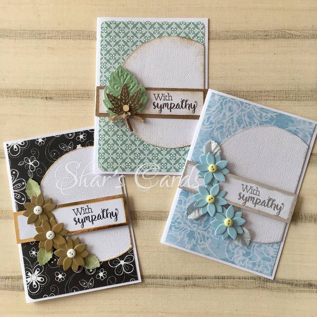 Simple & Elegant Sympathy card