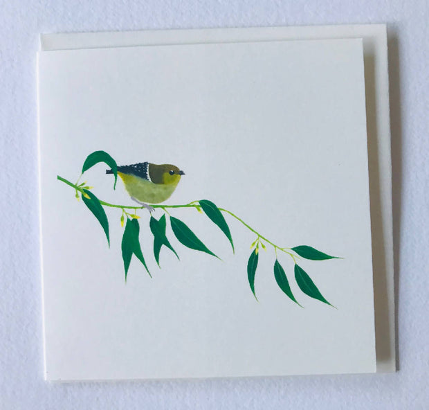 Small card - forty spotted pardalote