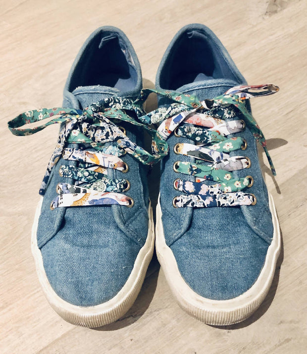 Liberty Fabric Shoelaces
