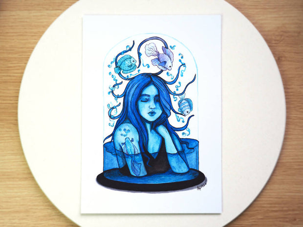 The Water Nymph Print