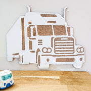 Cute wooden cut outs - Trucks