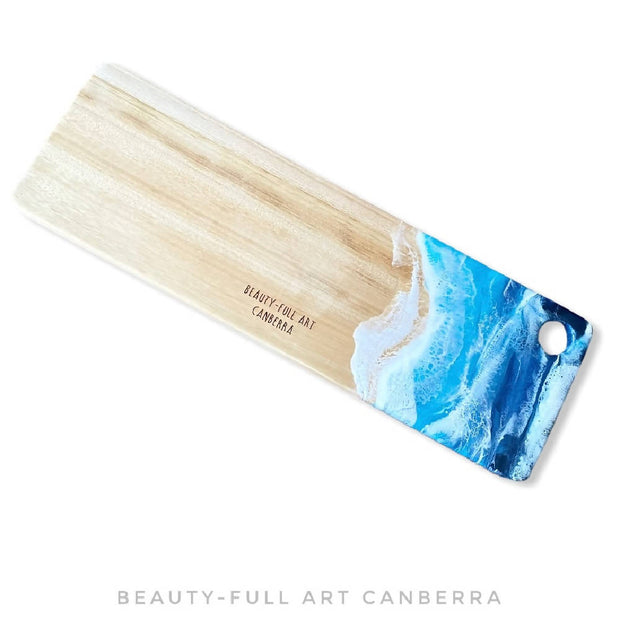 Resin Art Camphor Laurel Cheeseboard