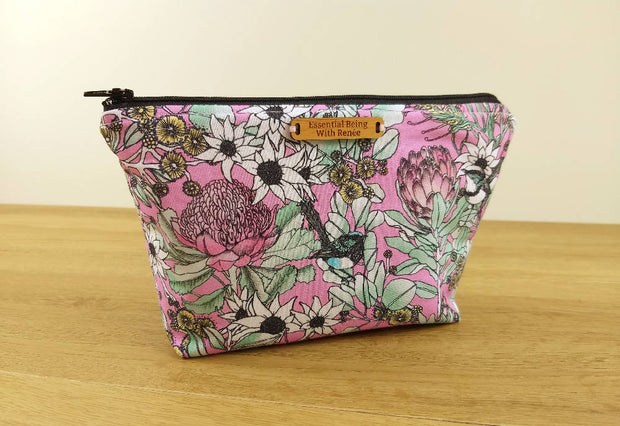 Scenic Drive Pink Essential Oil Bag