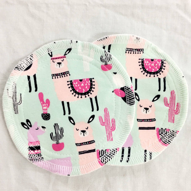 10 pack - Bamboo, waterproof, washable breast pads