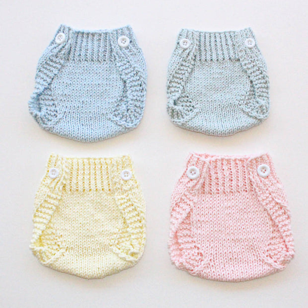 All Wrapped Up nappy pants - traditional colours