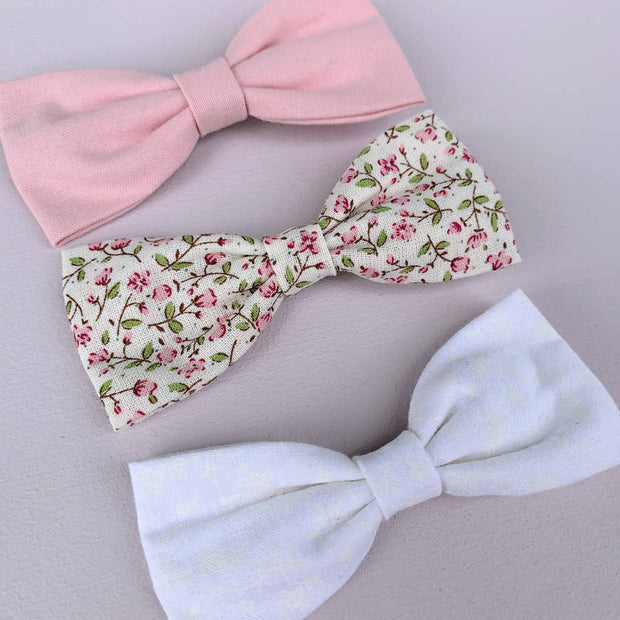 3 Large Bows || Clips - Set #20
