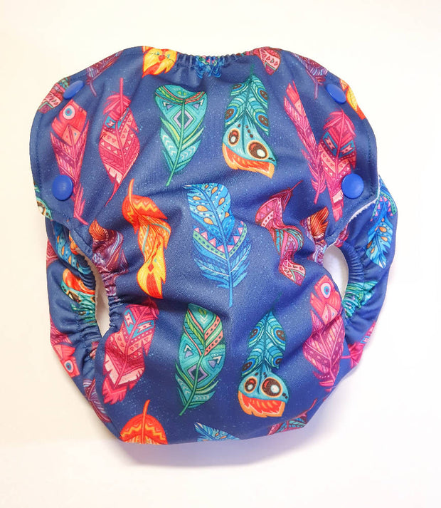 Feathers Modern Cloth Nappy Shell